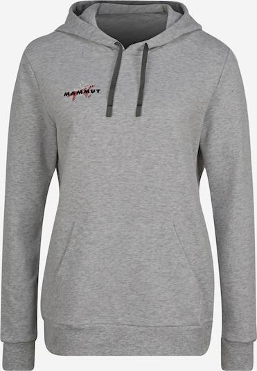 MAMMUT Sportsweatshirt in grau: Frontalansicht