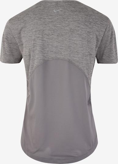NIKE T-shirt fonctionnel 'Miler' en gris: Vue de dos