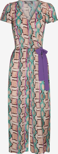 Nicowa Jumpsuit 'WIDES' in Turquoise / Brown / Purple / Pink, Item view