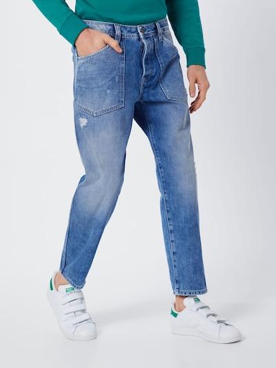 Pepe Jeans Jean 'JARROD SPANNER' en bleu denim: Vue de face