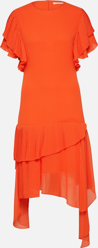 Foncé En Robe Orange De Cocktail Postyr OwlZuTPXki