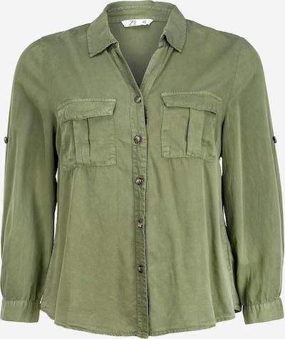 Z-One Bluse 'Lila Z1' in khaki, Produktansicht