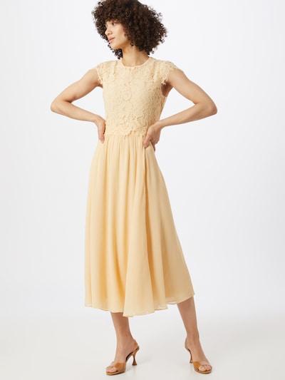 IVY & OAK Φόρεμα κοκτέιλ 'DRESS 2IN1 ANKLE' σε κρεμ / λεμονί, Άποψη μοντέλου