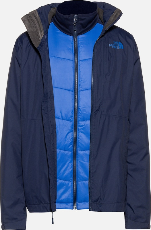 THE NORTH FACE Doppeljacke 'Arashi II' in blau / kobaltblau, Produktansicht