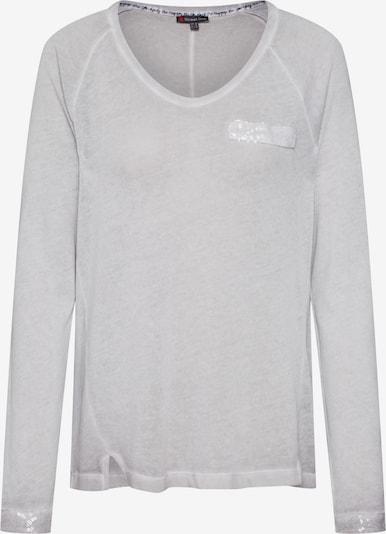 STREET ONE Shirt in hellgrau / graumeliert, Produktansicht