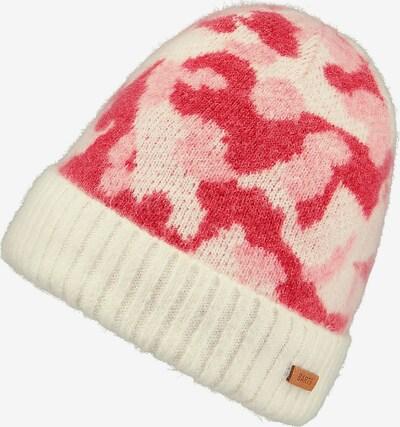 Barts Mütze in rosa / rot / weiß, Produktansicht