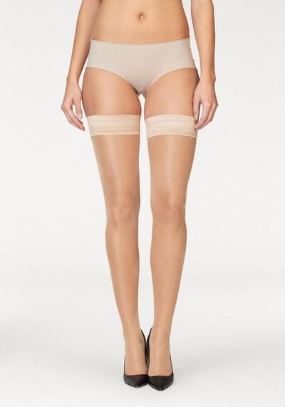 LASCANA Halterlose Strümpfe in '20DEN' in nude, Produktansicht