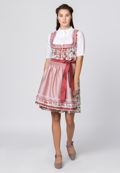 STOCKERPOINT Dirndl 'Nala' in dunkelpink, Modelansicht