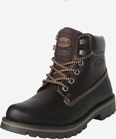 Dockers by Gerli Boots i mørkebrun, Produktvisning