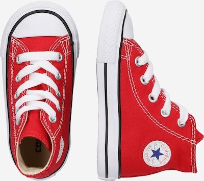 CONVERSE Sneaker 'ALLSTAR' in rot / weiß: Seitenansicht