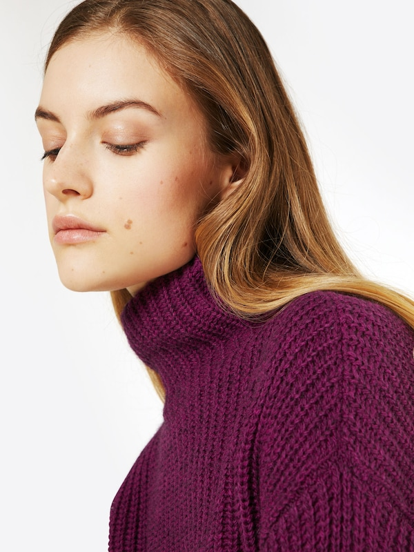 Rich & Royal Pullover 'Turtle Neck'