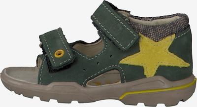 Pepino Schuhe 'JOEY' in gelb / oliv: Seitenansicht