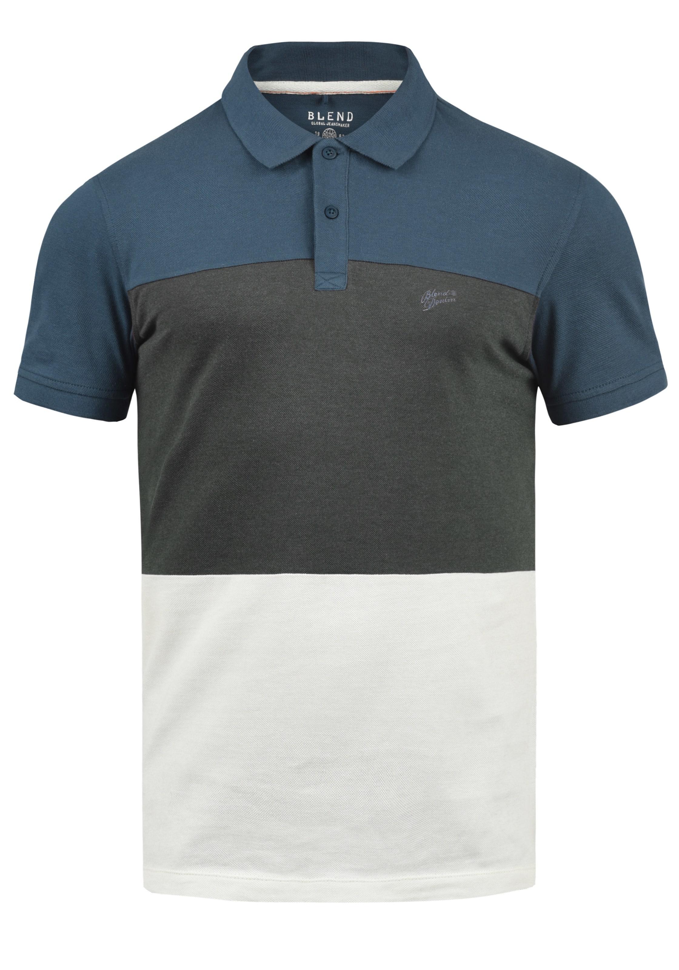 Poloshirt Blend Blend Poloshirt In Blau 'lauran' In 'lauran' SMpLzjUGVq
