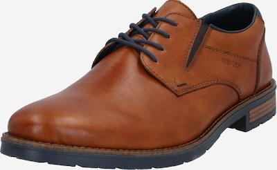 RIEKER Čevlji na vezalke | karamel barva, Prikaz izdelka