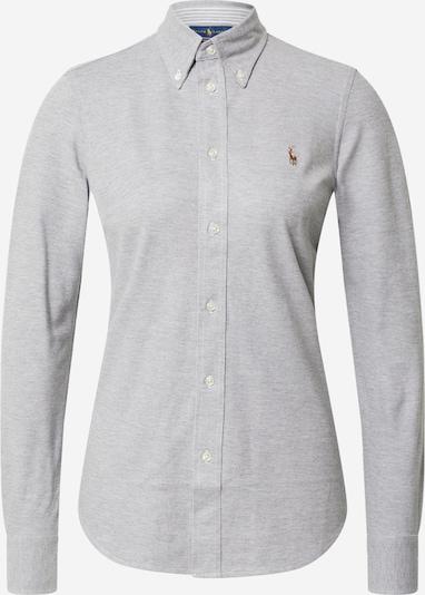 POLO RALPH LAUREN Bluse 'Heidi' in grau, Produktansicht