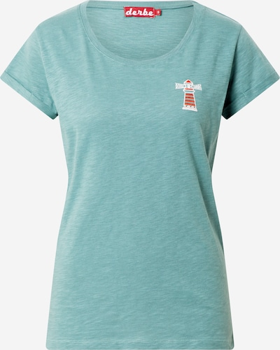 Marškinėliai 'Beam Stick Girls' iš Derbe , spalva - mėtų spalva, Prekių apžvalga