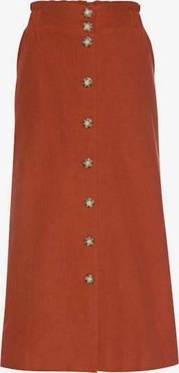 LASCANA Jupe en rouge rouille, Vue avec produit