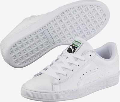 PUMA Sneaker 'Basket Classic Kinder' in weiß, Produktansicht