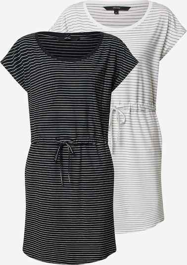 Vero Moda Petite Kleid 'VMAPRIL SS SHORT DRESS 2-PACK GA PETITE' in schwarz / weiß, Produktansicht