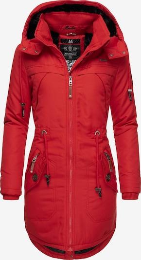 MARIKOO Wintermantel ' Kamii ' in rot, Produktansicht