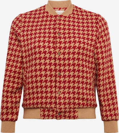 Guido Maria Kretschmer Curvy Collection Prechodná bunda 'Jolie' - béžová / červená, Produkt