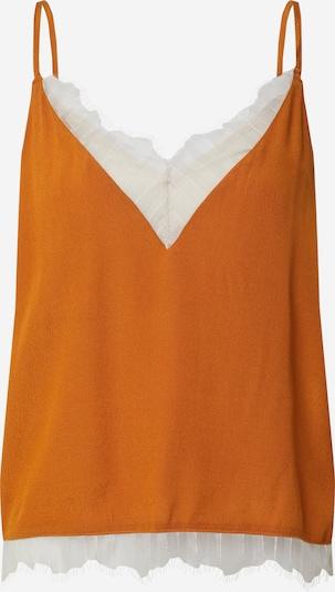 VILA Top 'Colina' in Orange / White, Item view