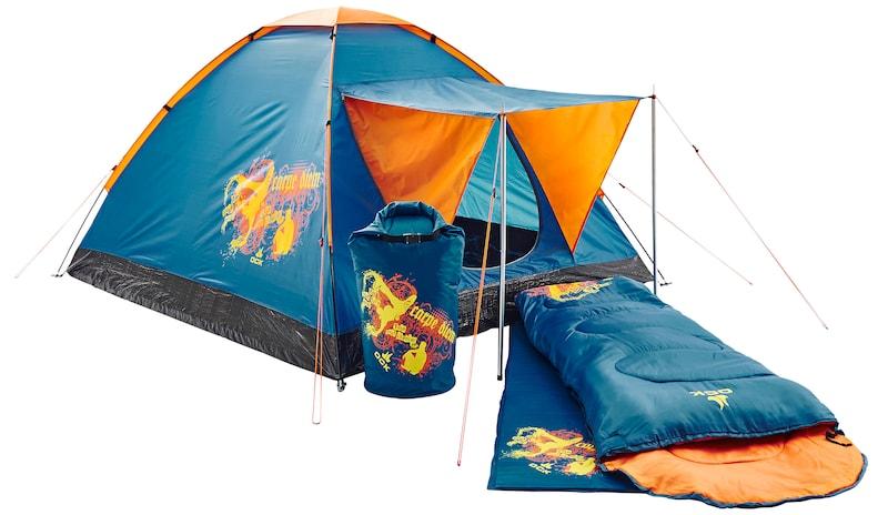 Edelrid Klettergurt Jayne : Ock carpe diem campingset in blau orange about you