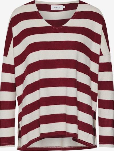 Megztinis iš ONLY , spalva - smėlio / vyno raudona spalva: Vaizdas iš priekio