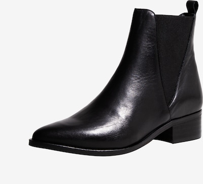 EDITED Chelsea škornji 'Zora' | črna barva, Prikaz izdelka