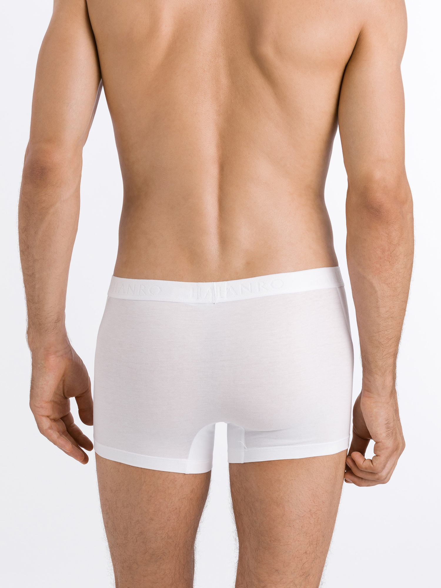 Hanro Boxershorts ' Cotton Essentials ' in Wit RGANVjWU