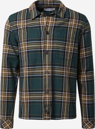 Samsoe Samsoe Hemd 'Ruffo' in blau / gelb / weiß, Produktansicht