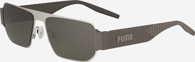 PUMA Sonnenbrille 'PU0283S' in grau / grün, Produktansicht