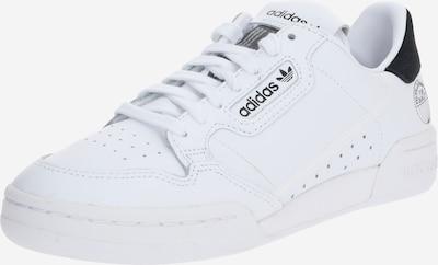 ADIDAS ORIGINALS Baskets basses 'Continental 80' en blanc, Vue avec produit