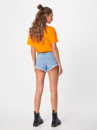 ONLY Shorts 'Divine' in blue denim: Rückansicht