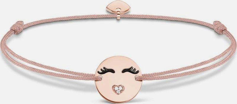 Thomas Sabo Armband 'Little Secret 'Emoticon mit Herzmund', LS043-381-19-L20v'