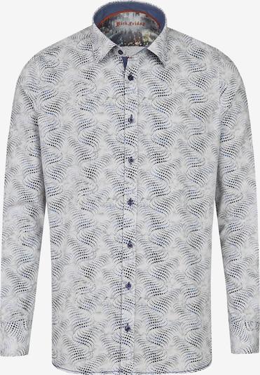 Rich Friday Hemd in hellblau / hellgelb, Produktansicht