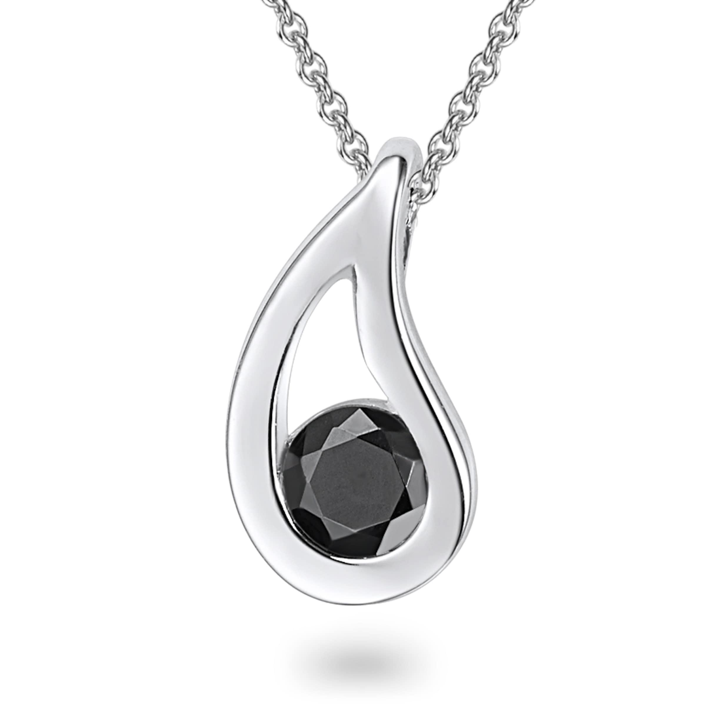 Auslass Beste Ort Spielraum Neuesten Kollektionen Rafaela Donata Silberkette mit Tropfen-Anhänger  Auslass Heißen Verkauf IMixcm3