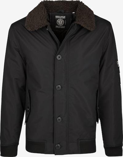 SOULSTAR Winterjas in de kleur Zwart, Productweergave