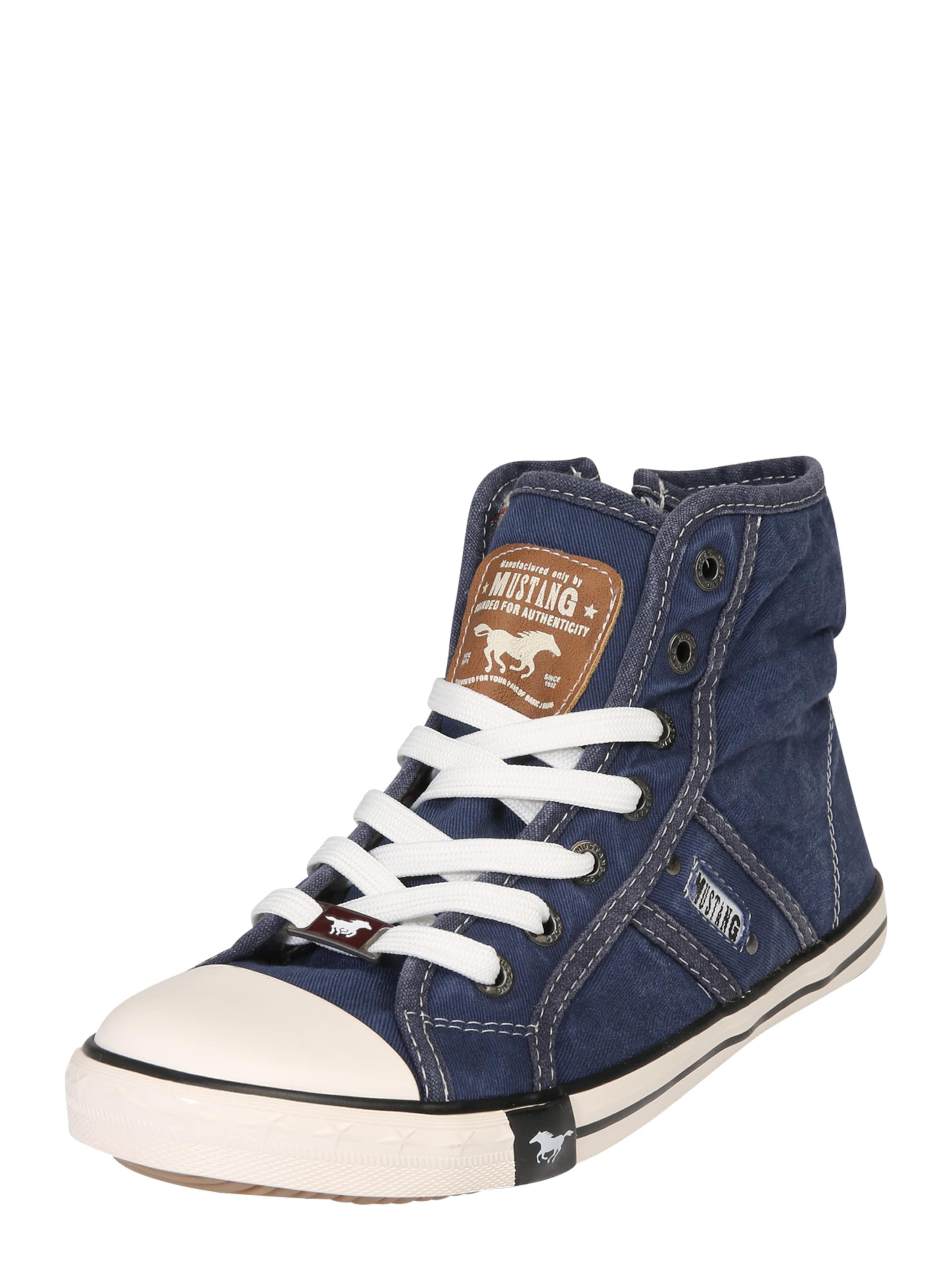 MUSTANG Hohe Sneaker aus Canvas Hohe Qualität