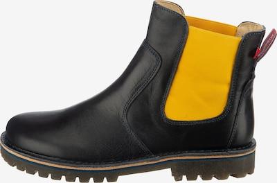 Grünbein Chelsea Boot 'Anke' in kobaltblau / gelb, Produktansicht