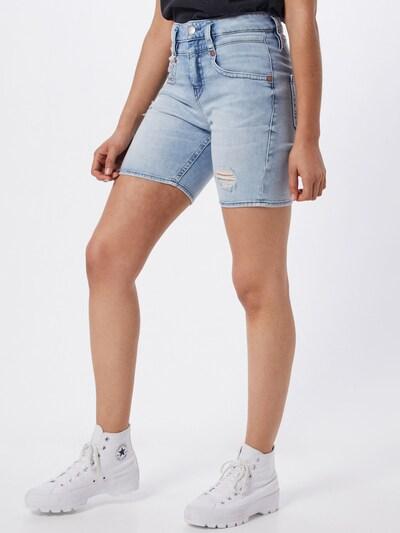 Herrlicher Jeans 'Pitch' i blue denim, Modelvisning