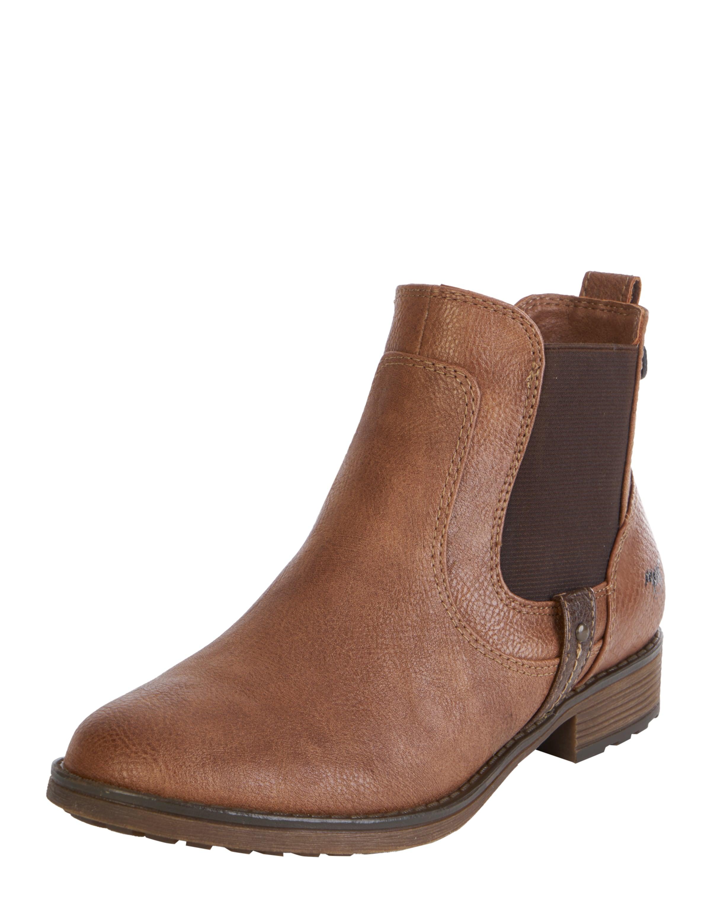 Mustang Chelsea Chelsea Marron En Boots Marron Mustang Mustang En Boots BroCedx