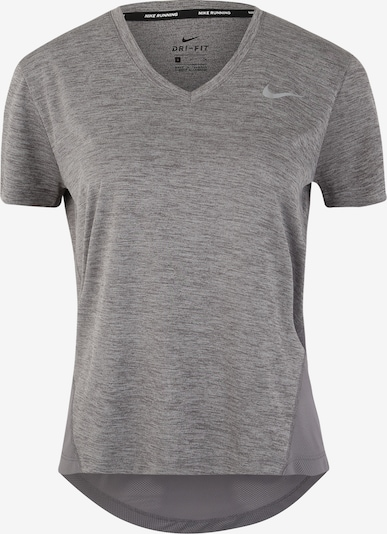 NIKE T-shirt fonctionnel 'Miler' en gris: Vue de face