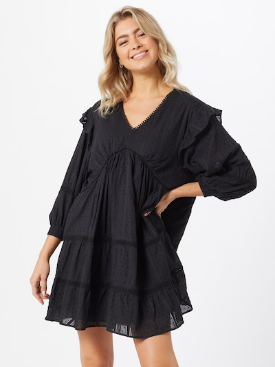 OBJECT Kleid 'Rowan' in schwarz, Modelansicht