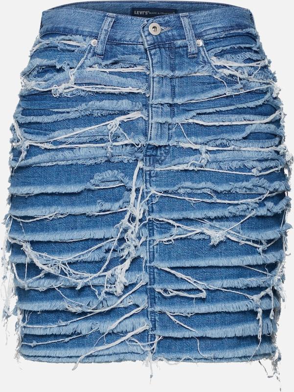 Crafted Jupe Denim Levi's Bleu En Madeamp; xtQdosrhCB