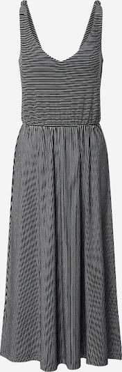 TOM TAILOR Robe d'été en noir / blanc, Vue avec produit
