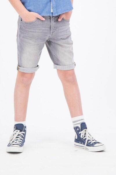 GARCIA Shorts 'TAVIO' in grey denim: Frontalansicht