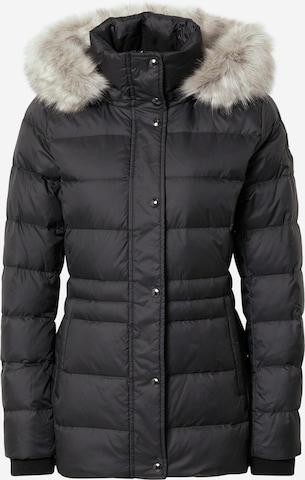 TOMMY HILFIGER Zimná bunda 'Tyra' - Čierna