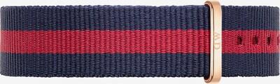 Daniel Wellington Textilband in navy / rot, Produktansicht
