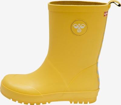 Hummel Regenlaarzen in de kleur Geel, Productweergave